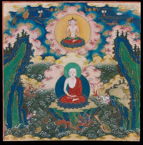 Leaf 17, Wangzimial Aokhan Banner, Inner Mongolia, late 18-19 century.